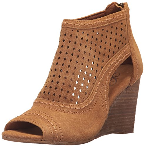 Naughty Monkey Women's Sharon Wedge Pump, Sandcastle, 8 M US - Naughty Monkey Shoes Com