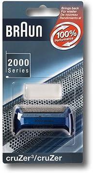 Marrón Lámina de afeitado para Cruzer Azul para afeitadora (Cruzer einfolien Sistema de afeitar): Amazon.es: Salud y cuidado personal