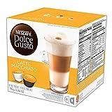 NESCAFÉ Dolce Gusto Coffee Capsules  Latte Macchiato  48 Single Serve Pods, (Makes 24 Specialty Cups) 48 Count