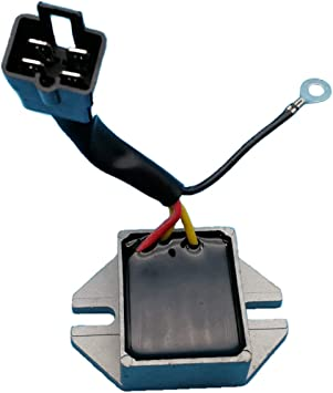 Voltage Regulator Fits Ski-Doo Skandic OEM Repl.# 410911300//410918400 // 420866080//515163900 // 515175546 Touring Tundra Formula Safari Alpine II 250 377 380 440 447 467 500 1987-2002