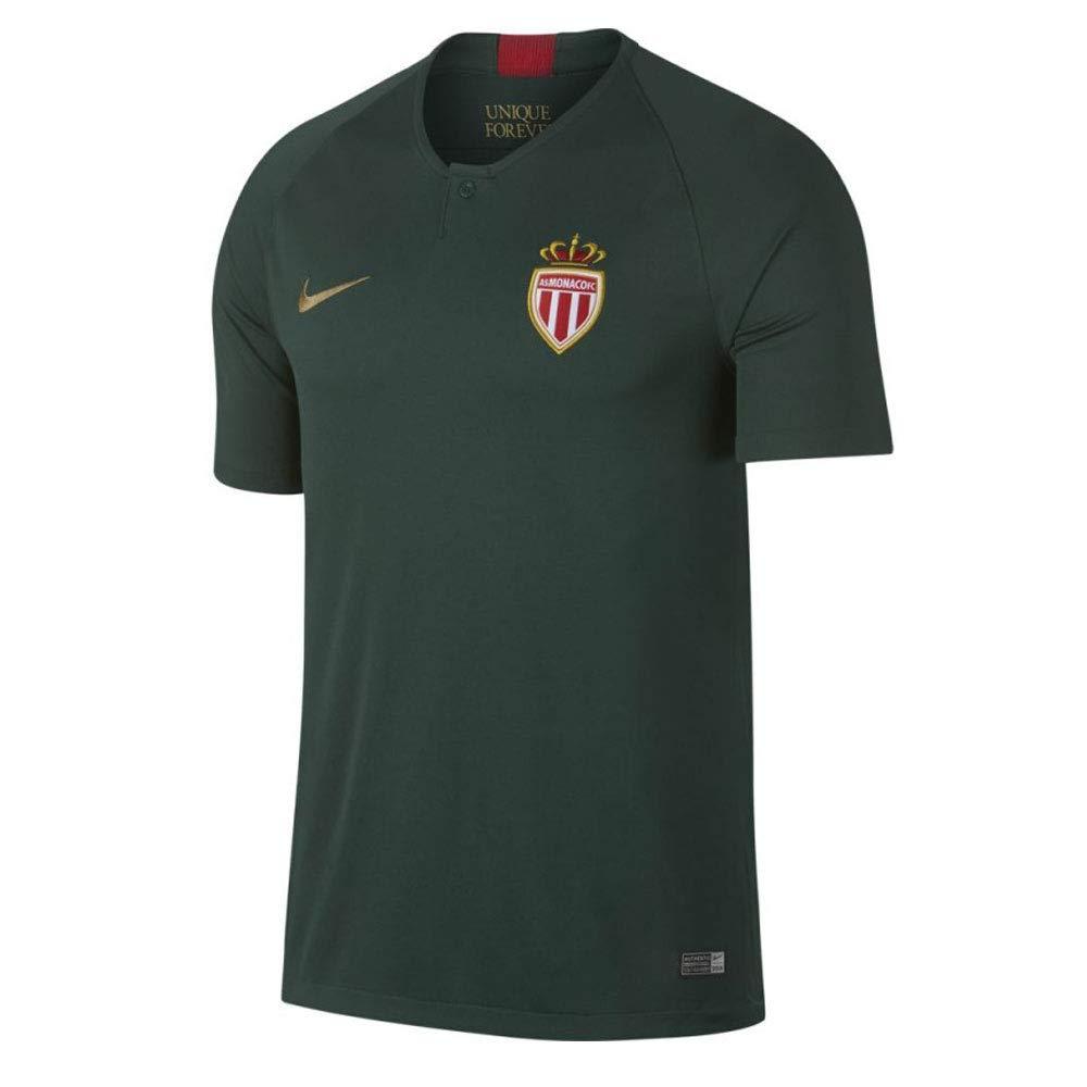 Nike 2018-2019 Monaco Away Football Soccer T-Shirt Trikot (Kids)
