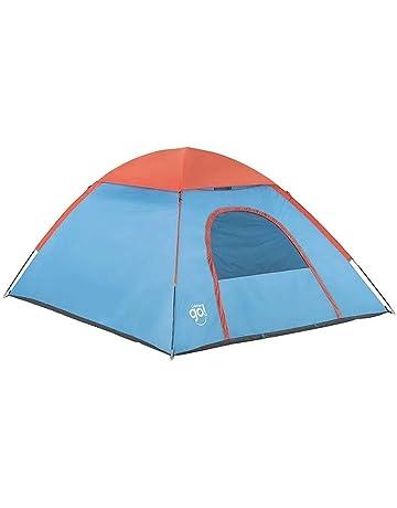 WEONE 10 Piezas Aluminio Estacas de Tiendas de Campa/ña con Bolsa de Transporte Monta/ñismo Camping 4 Piezas 13ft Tensores con Hebilla Ajustable Reflectante para Playa al Aire Libre Senderismo