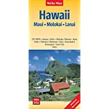 Nelles Map Landkarte Hawaii : Maui, Molokai, Lanai: 1:150.000 | reiß- und wasserfest; waterproof and tear-resistant; indéchirable et imperméable; irrompible & impermeable (Nelles Map / Strassenkarte)