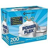 Member's Mark 13 gal Power Flex, Leak Protection, Tall Kitchen Simple Fit Drawstring Bags (Flex Power)