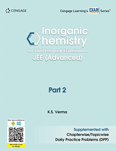 Inorganic Chemistry for Joint Entrance Examination JEE (Advanced): Part 2