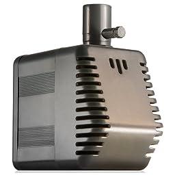 Rio Plus 400 Aqua Pump/Powerhead - 144 Gallons per Hour, 6.5 Watts UL listed