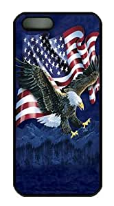 Eagle Talon Flag PC Case Cover for iPhone 5 and iPhone 5s Black