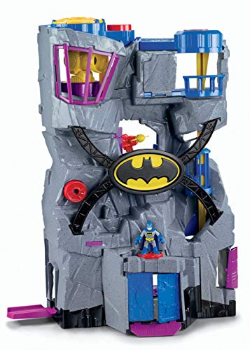 Fisher-Price Imaginext DC Super Friends, Batcave (Amazon Exclusive)