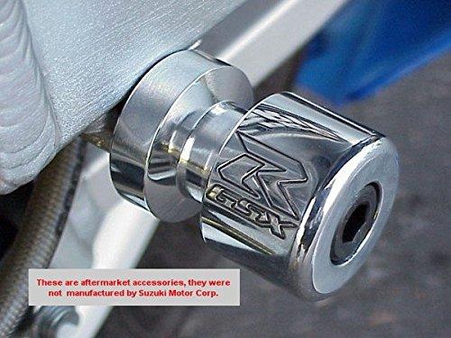 i5 Chrome Swingarm Spools for Suzuki GSX 250 250R GSX250R GSXR600 GSXR750 GSXS750 GSXR1000 GSXS1000 GSXS GSXR 600 750 1000