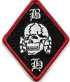 Diamond BLOOD & HONOUR B&H Skull 3 Inch Patch
