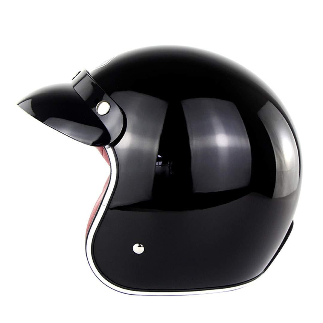 Motorcycle Retro Harley Helmet Chopper Vintage Casco Moto Chopper Open Face Helmets Motor Bike Scooter Casco DOT Approval