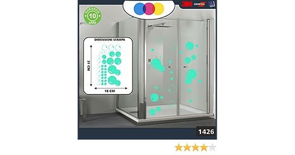 Pegatinas para la ducha, con diseño de burbujas de jabón. Cód ...