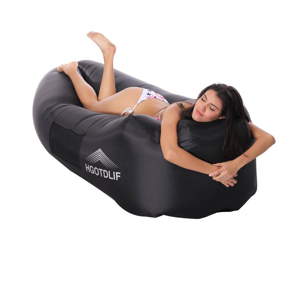 Strand HGOTDLIF Luftsofa Outdoor,Tragbare aufblasbare Sofa Stuhl Air Lounger Sofa Schlafsack Parteien. Kinder Angeln ideal f/ür Lounging Camping