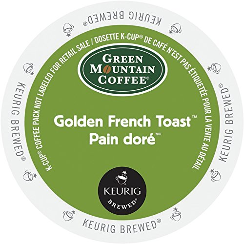 GREEN MOUNTAIN GOLDEN FRENCH TOAST COFFEE K CUP 96 COUNT