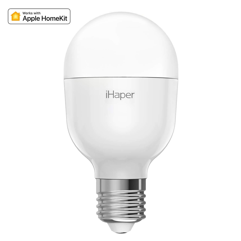 iHaper B2 Lampadine LED Intelligente WiFi - E27 Lampadina Dimmerabile, 3000K