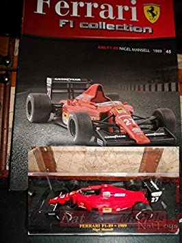 EDICOLA Ferrari F1 Collection F1-89 Mansell Model +Box + fas ...