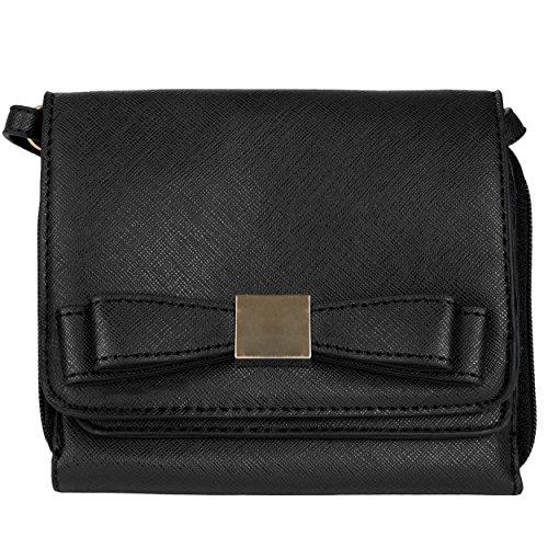 Mini Carson Crossbody Handbag for Motorola Moto X Pure Edition / G / E, Pink