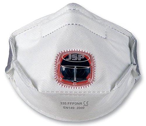 JSP BEY130-201-000 TYPHOON VALVED HORIZONTAL FOLD FLAT FFP3 [Pack Size: 10] (Epitome Certified)