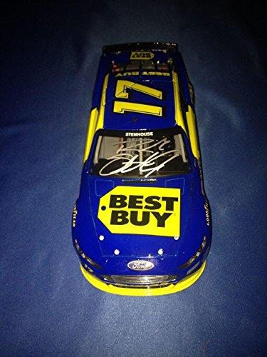RICKY STENHOUSE JR SIGNED Autographed 2013 BEST BUY GEN 6 1/24 Diecast COA - Autographed Diecast Cars