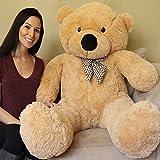 5 foot bear - Yesbears Giant Teddy Bear 5 Feet Tan Color (Ultra-Soft)