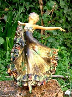 c1927 Art Deco Wade figurine Zena Jessie Van Hallen