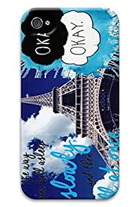 Online Designs fault in our stars Eiffel Tower PC Hard new For Case Ipod Touch 4 Covers for women
