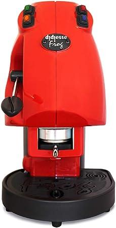 I1006 CAFETERA CÁPSULAS DE CAFÉ EN PAPEL 44 MM DIDIESSE FROG ROJO: Amazon.es: Hogar