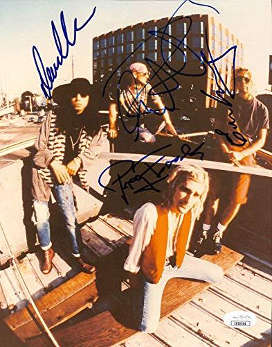 Jane's Addiction (4) Farrell, Navarro, Perkins +1 Signed 8x10 Photo #EE00394 - JSA Certified - Autographed Soccer Photos
