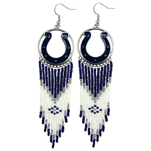 (Littlearth NFL Dreamcatcher Earrings (Indianapolis Colts))