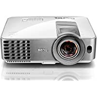 "BenQ WXGA DLP Short Throw Projector (MW632ST), 3200 Lumens, WXGA 1280x800, HDMI, 10W Speaker, Keystone, 87""@4.5ft, 1.2x Zoom"