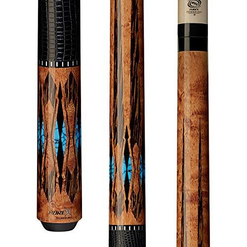 (Pure X Players HXTE2 Billiards Pool Cue Stick w/HXT Low Deflection Shaft )