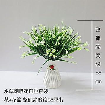 Amazon.de: Unechte Blumen Die künstliche Kunststoff Blume zimmer ...
