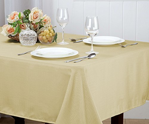 Kashi Home Matilda Jacquard Table Cloth, 52 x 70