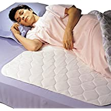 """Priva High Quality Ultra Waterproof Pad and Mattress Protector 34""""x36"""" With Handles"""