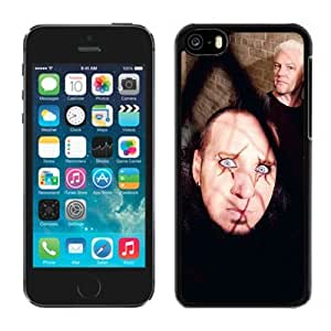 Beautiful Designed Cover Case With Mudvayne Band Members Look Cage For iPhone 5C Phone Case