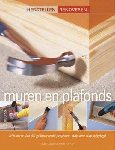 Herstellen Renoveren - Muren en plafonds: Met meer dan 40 geïllustreerde projecten, stap voor stap uitgelegd.