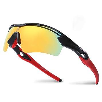 Amazon.com: XR Gafas de sol deportivas polarizadas para ...