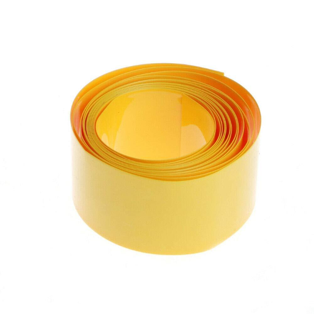 envoltura de bater/ía de tubo termorretr/áctil Tubo termorretr/áctil SENRISE rojo funda el/éctrica de PVC funda de cable