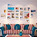 Wooden Living Room Photo Wall European Creative Simple Large-size Photo Frame Combination