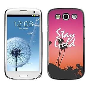 SKCASE Center / Funda Carcasa - Purple Sunset Los Angeles;;;;;;;; - Samsung Galaxy S3