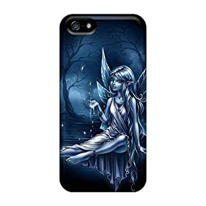 Diycase Blue Elf With Iphone 4s PC iphone Hot Fashion Design cAVJ0cB3WTK case covers Covers case cover yueya's case cover