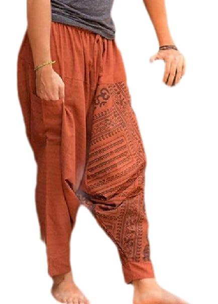 Pantalones de Yoga para Hombre de Seguridad, Estilo Hippie ...