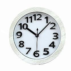 Fashion creative 12 - dimensional digital style small alarm clock Desk Clocks