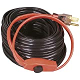 hose heat tape - Easy Heat AHB-180 Cold Weather Valve and Pipe Heating Cable, 80-Feet