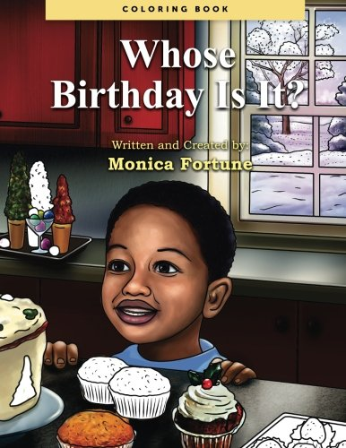 Whose Birthday Is It?  Coloring Book