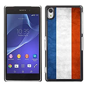 Shell-Star ( National Flag Series-Netherlands ) Snap On Hard Protective Case For SONY Xperia Z2 / D6502 / L50W