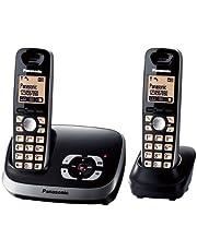 Panasonic KX-TG6522GB Duo draadloze telefoon met antwoordapparaat, Zwart