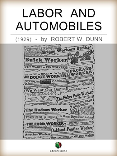 Auto Union - Labor and Automobiles (History of the Automobile)