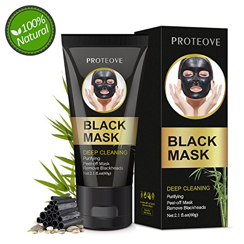 Black Mask Peel Off Mask, Blackhead Remover Mask Activated Charcoal Peel Off Mask, Charcoal Face Mask Charcoal Mask, Deep Cleansing Facial Mask For Face Nose
