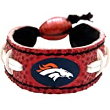 GameWear Denver Broncos Classic Football Bracelet